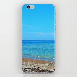 Perce Beach panoramic iPhone Skin