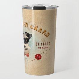 Schnauzer Brand Cigars Travel Mug