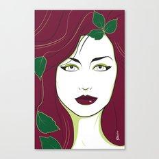 Nagel Style Poison Ivy Canvas Print