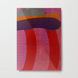 A Reasonable Assumption, Abstract Shapes Metal Print