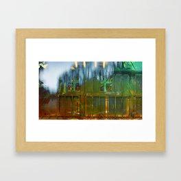 Rear Gate Framed Art Print