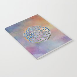 The Flower of Life in the Sky Notebook