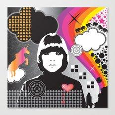 Mojo Girl Canvas Print