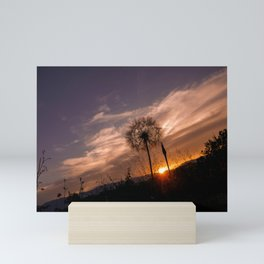 Sunset love Mini Art Print