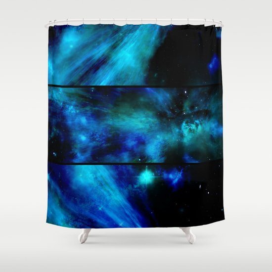 Windows To A Space View Shower Curtain By Minx267