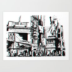 City That Inspires Art Print