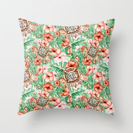 Pirate #2 Throw Pillow