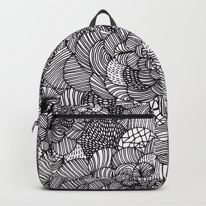 Ink flowers Backpack