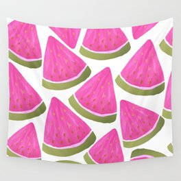 Watercolour Watermelons Wall Tapestry