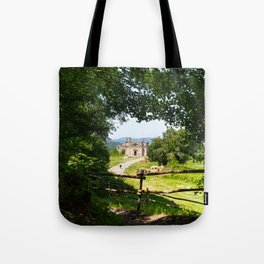 The abandoned ancient Monterano Tote Bag