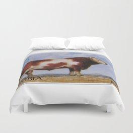 Simmental Bull Duvet Cover
