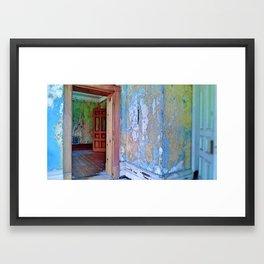 Doorways in and Doorways Out II (vacancy zine) Framed Art Print