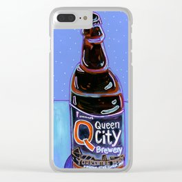 Queen City - Yorkshire Porter Clear iPhone Case