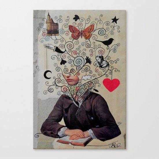 little romantic Canvas Print