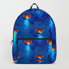 Glowing Jellyfish Backpack