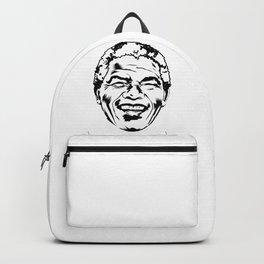 Nelson Mandela South African anti-apartheid revolutionary, political leader, and philanthropist Backpack