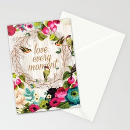 Love every Moment Stationery Cards