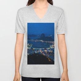 Rio de Janeiro Unisex V-Neck