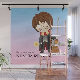 Never realy leave us Wall Mural