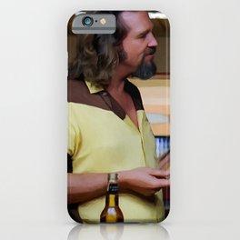Jeff Bridges & Sam Elliot @ The Big Lebowski (Joel and Ethan Coen - 1988) iPhone Case