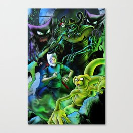 Horror Time! Canvas Print