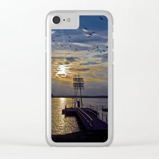 Ex Paradise of the Former Political Upperclass of the GDR in Wandlitz Clear iPhone Case