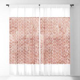 Mandarin Trellis Pattern Blackout Curtain