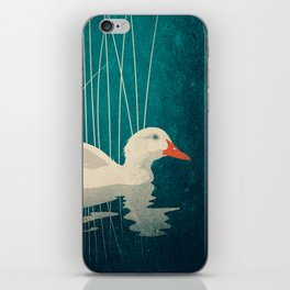 Duck Reflected iPhone Skin