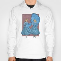 sisters Hoodies featuring Sisters by Karen Hallion Illustrations