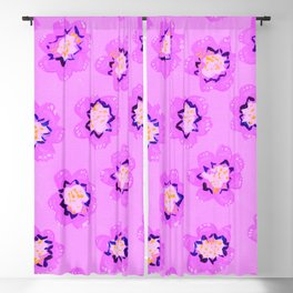Lilac Mary Rose Blackout Curtain