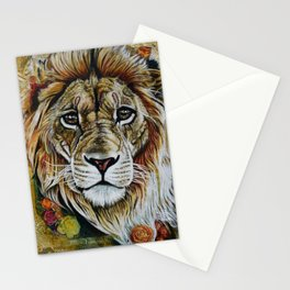 Beauty Lion Stationery Cards