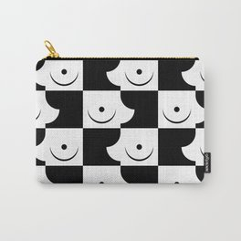 Streapchess_01 | Black and White Carry-All Pouch