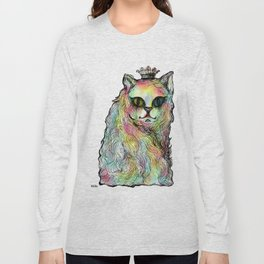 Odd-eyed Cat Long Sleeve T-shirt