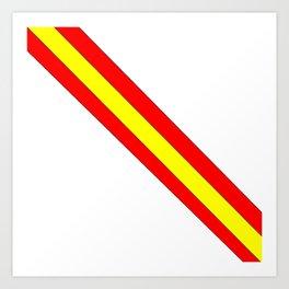 Flag of spain 7-spain,espana, spanish,plus ultra,espanol,Castellano,Madrid,Barcelona Art Print
