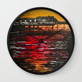 Aberystwyth Pier Wall Clock