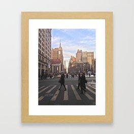Gramercy Gram Framed Art Print