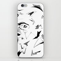 dc iPhone & iPod Skins featuring DC by CHAN CHAK MAN, CK
