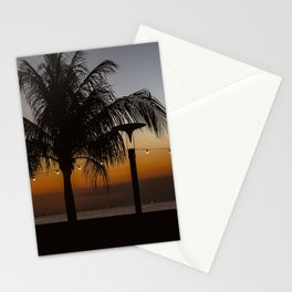 Sunset by the bay Stationery Cards