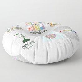 Designers United - All Six Designs Floor Pillow