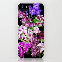 Orchids - Cool colors! iPhone Case