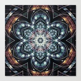 Mandalas from the Voice of Eternity 4 Canvas Print