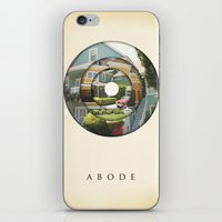 literary iPhone & iPod Skins featuring abode by Vin Zzep