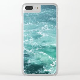 Sea Waves | Seascape photography Clear iPhone Case