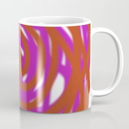 Design ethnic exotic wild  Red PILLOW Coffee Mug