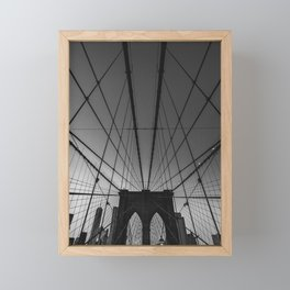 Brooklyn New York Framed Mini Art Print