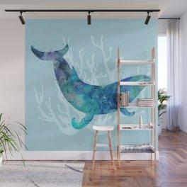 Mystical Whale Wall Mural
