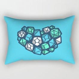 Heart of a Dungeon Master Rectangular Pillow