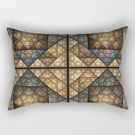 Church Window Pattern Rectangular Pillow