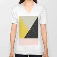 constellation V-neck T-shirts featuring Constellation by Bambs Hemmings