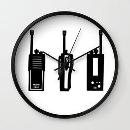 P.D.O.C. Walkie Talkie 3D comic version Wall Clock